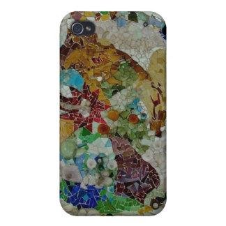 Mosaico de Gaudi iPhone 4 Cobertura