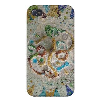 Mosaico de Gaudi iPhone 4 Protector