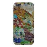 Mosaico de Gaudi iPhone 5 Carcasa