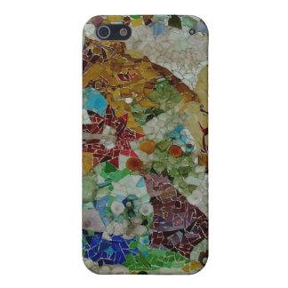 Mosaico de Gaudi iPhone 5 Funda
