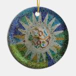 Mosaico de Gaudi Ornamentos De Reyes Magos