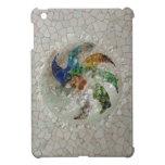 Mosaico de Gaudi subió iPad Mini Funda