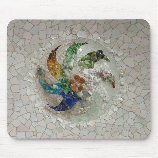 Mosaico de Gaudi Tapetes De Ratón