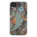 Mosaico de Koi iPhone 4 Case-Mate Carcasa