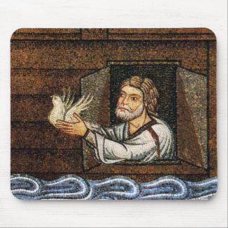 Mosaico de la arca de Noah - circa 1200 - desconoc Tapete De Raton