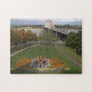 Mosaico de la flor, Nimega Puzzle