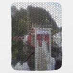 Mosaico de la foto mantitas para bebé