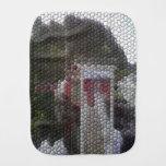 Mosaico de la foto paños para bebé