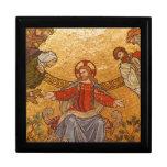 Mosaico de la iglesia - Jesucristo Cajas De Joyas