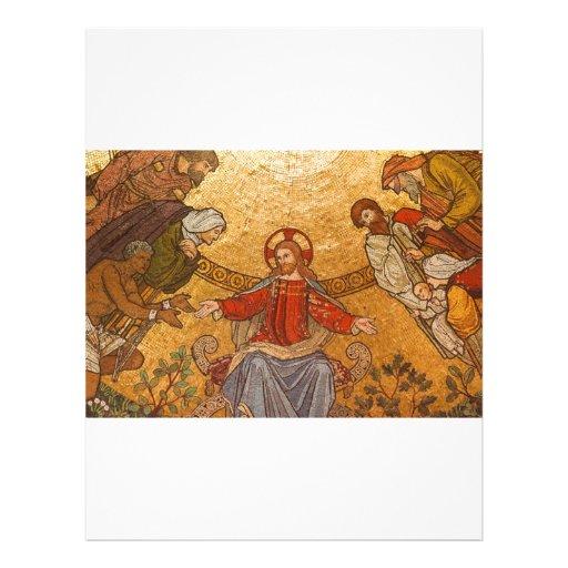Mosaico de la iglesia - Jesucristo Flyer Personalizado