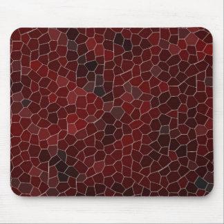 Mosaico de la lava tapete de ratones