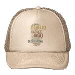 Mosaico de la palabra de Othello Gorro De Camionero