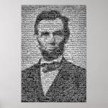 Mosaico de Lincoln Póster