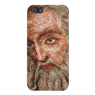 Mosaico de Moses en la basílica de la catedral de iPhone 5 Carcasa