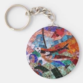 Mosaico de Murano Llaveros Personalizados