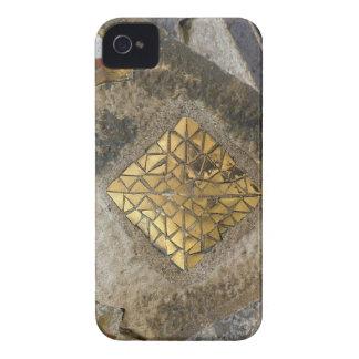 Mosaico de oro de Gaudi iPhone 4 Fundas