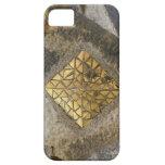 Mosaico de oro de Gaudi iPhone 5 Protector