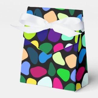 Mosaico de piedra plano coloreado I + sus ideas Cajas Para Regalos De Fiestas