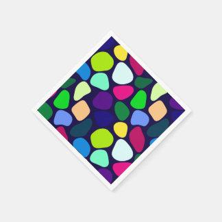 Mosaico de piedra plano coloreado I + sus ideas Servilletas De Papel