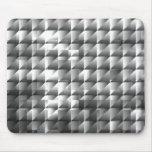 Mosaico de plata alfombrilla de ratones