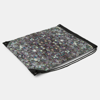 Mosaico de plata colorido brillante v4 - mandala mochilas
