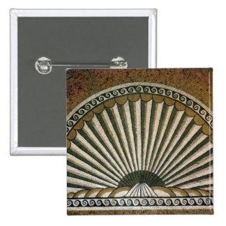 Mosaico de Shell, ANUNCIO constructivo de la ínsul Pin Cuadrada 5 Cm