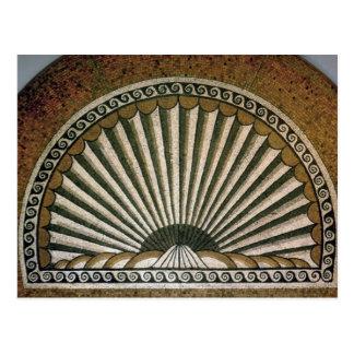 Mosaico de Shell, ANUNCIO constructivo de la ínsul Tarjeta Postal