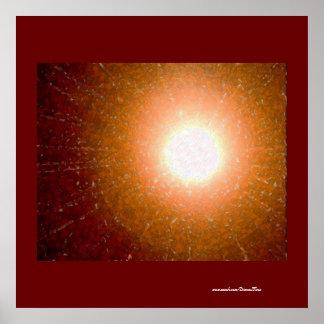 Mosaico de Sun Póster