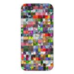 Mosaico del arco iris iPhone 5 protectores