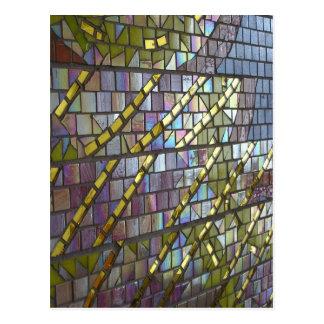 Mosaico del arco iris postal
