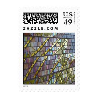 Mosaico del arco iris franqueo