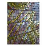 Mosaico del arco iris tarjetas postales