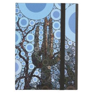 Mosaico del círculo concéntrico del cactus del Sag