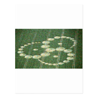 Mosaico del círculo de la cosecha tarjetas postales