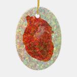 Mosaico del corazón ornato