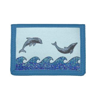 mosaico del delfín