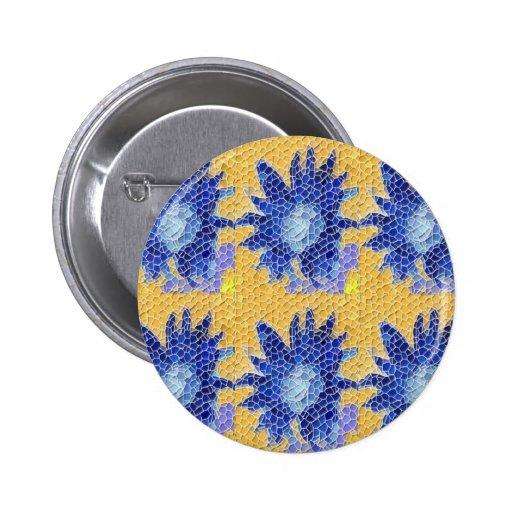 Mosaico del girasol pin