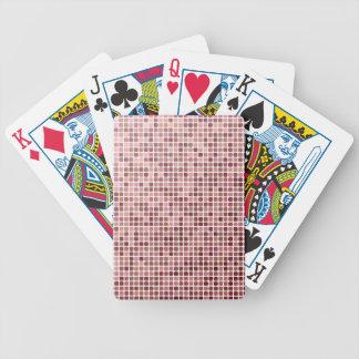 Mosaico del pixel baraja de cartas
