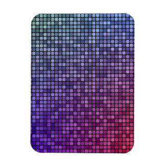 Mosaico del pixel de la fiebre del disco iman
