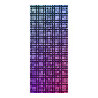 """Mosaico del pixel de la fiebre del disco invitación 4"""" x 9.25"""""""