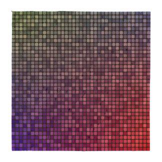 Mosaico del pixel de la fiebre del disco posavasos
