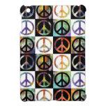 Mosaico del signo de la paz iPad mini coberturas