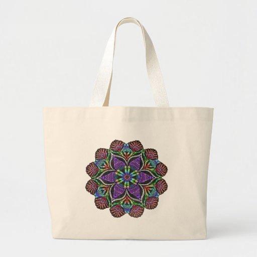 Mosaico del tapetito del arco iris bolsas