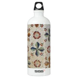 Mosaico do Museu dos Mosaicos em Israel Aluminum Water Bottle
