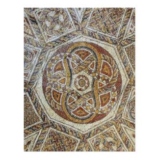 Mosaico do Museu dos Mosaicos em Israel Letterhead