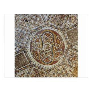 Mosaico do Museu dos Mosaicos em Israel Postcard