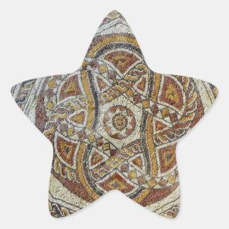 Mosaico do Museu dos Mosaicos em Israel Star Sticker