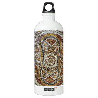 Mosaico do Museu dos Mosaicos em Israel Water Bottle