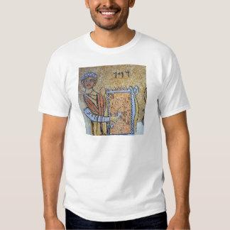 Mosaico do Rei Davi com arpa no Museu do Mosaico Tee Shirt