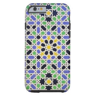 Mosaico en los dado de la puerta en el pasillo de funda resistente iPhone 6